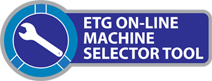 ETG Machine Selector